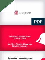 Derecho Constitucional. Tema 1.1