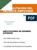 Rehabilitación del paciente Amputado 2018-2019