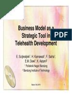 Business Model as a Strategic Tool in Telehealth Development.pdf