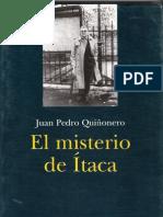 6f20 El misterio de Ítaca Ensayos de Juan Pedro Quiñonero
