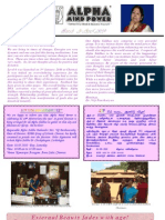 Newsletter Mar & April 2010 Website