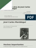 Vida y Obra de José Carlos Mariátegui