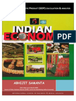 Indian GDP (Gross Domestic Product) Calculation and Analysis