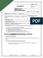 9. Guía de Geometría y Estadística No 5 - Circunferencia - IV Periodo