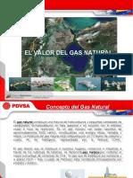 EL VALOR DEL GAS