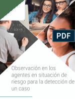 Observación en los agentes en situación de riesgo para la detección de un caso.pdf