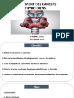 cancers  de la thyroide traitement.pptx