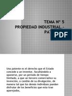 TEMA 5- PROPIEDAD INDUSTRIALpptx