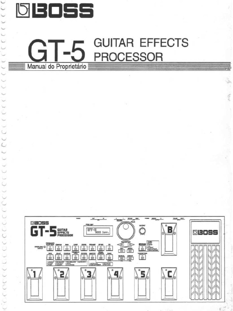 Manual boss gt 5 pt fandeluxe Image collections