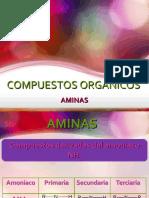 NOMENCLATURA DE COMPUESTOS ORGANICOS-AMINAS