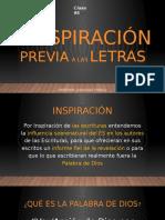 La Inspiración previa a las letras.pptx
