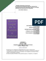 Marco legal de la función policial