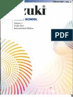 Suzuki violin 1 Edición internacional