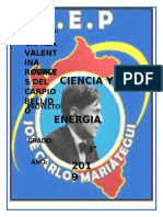 Carátula pROYECTO DE CIENCIAS