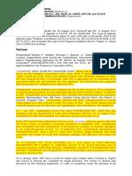 36 Resources   Corporation   vs. Mejares, 780 SCRA 617, GR.  No. 208986 January 13, 2016