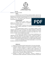 Resolución N°20- Coronavirus
