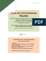 PT109 PLAN DE CONTINGENCIA