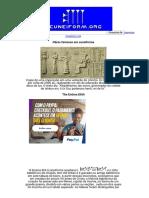 Cuneiform.org Obras famosas em cuneiforme Enûma Elišh e a epopeia de Gilgamish