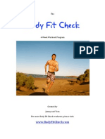 Body Fit Check Bootcamp