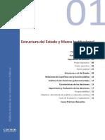 01.01.Estructura del Estado y Marco Institucional
