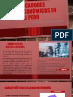 Indicadores macroeconómicos en el Perú