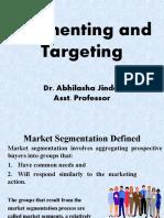 8. market segmentation