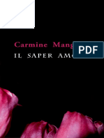 "Carmine Mangone, ""Il saper amore"", Ab imis, 2018"