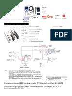 2 canales osciloscopio DDS función generador DIY Kit pantalla táctil portátil WAVE2