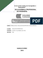 Formulacion de proyectos- AGUILAR SACSARA Renzo