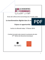 Actes Rencontre Eco Transformation Digitale 130218