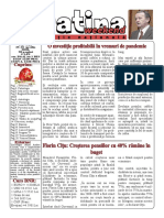 Datina - Ediție Națională - 25-26.04.2020 - prima pagină