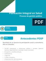 Planeación Integral en Salud
