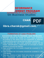 FORMATION OF CASE PROBLEMS.