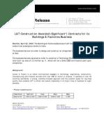 Press Release - L_T Construction - 22nd April 2020-11571