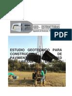 Informe geotecnio cienaga de oro - Cordoba