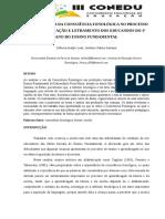 [Artigo] A Importância da Consciência Fonológica no Processo de Alfabetização e Letramento dos Educandos do 1º ano do Ensino Fundamental (Débora Araújo Leal).pdf