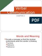 Ch. 3 Verbal Comm STU