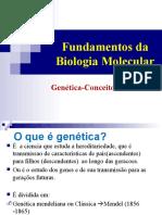BCM II - Genética--Hereditariedade-Gene-ADN