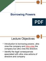 L28,29Borrowing powers of a Company