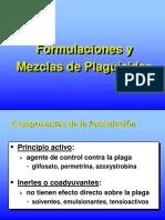 Formulaciones y Mezclas