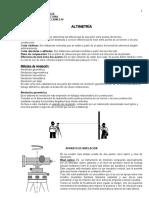 TOPOGRAFÍA  2- ALTIMETRÍA