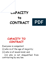 4.Capacity to Contract
