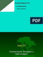 CSC - UD III - Ass 01 - Características, Montagem e Desmontagem