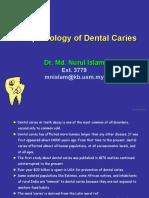 His to Pathology of Dental Dental Caries 1
