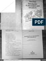 Freud, Anna - Introducción al Psicoanálisis para Educadores.pdf