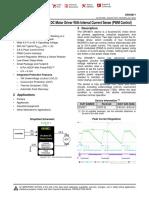 TI-MotorDriver-drv8871_SPECS