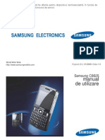 Manual Samsung C6625