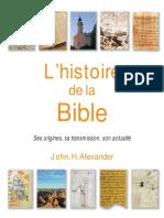 L'histoire de la Bible (extrait)