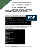 PRACTICA DE CREACION DE USUARIOS Y ASIGNACION DE PRIVILEGIOS(1)