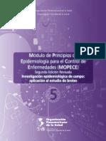 Modulo de principios de epidemiologia. 2011.Brote